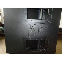 Caixa De Som Sub Grave 2x18 Marca Kraft