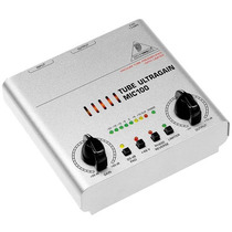 Mic100 Pré Amplificador Valvulado Behringer Mic 100 Mic-100