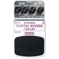 Dr400 Pedal Behringer Digital Delay E Reverb Dr 400 Dr-400