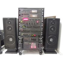 Rack Cygnus + Caixas Sony + Prato Aiwa
