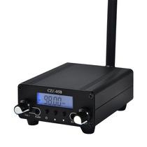 Transmissor De Fm Cze-05b Estéreo Pll Estação De Rádio Ki...