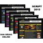 Script Site Web Radio Online + 2400 Vinhetas Profissionais