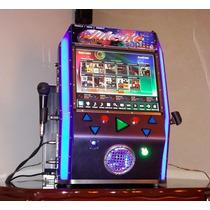 Jukebox Máquina De Som E Karaokê Touchscreen 2 Caixas 12 Pol