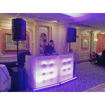 Cabine Dj Capitone Treliça Cdj Technics Moving Led Barman