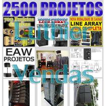 700 Projetos De Caixas De Som - Line - Tree Way - Amplificad