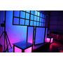 Dj Cabine + Backdrop - Treliça Cdj Technics Moving Led Laser
