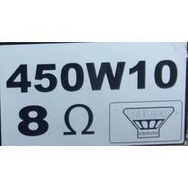 Reparo P/ Alto-falante Oversound 450w/10 - 8 Ohms