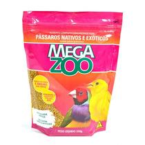 Ração Sm16 Pássaros Nativos E Exóticos ¿ 350g _ Megaz
