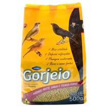 Ração Gorjeio Pássaro Preto Sábia E Trinca-ferro – 500