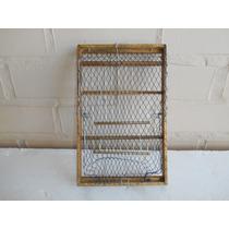 Alçapão De Rede -batedera- Artesanal-envernizado -20cmx30cm