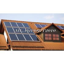 Coletor Solar Placa Aquecedora Aquecimento Agua 1,0 X 1,0 M