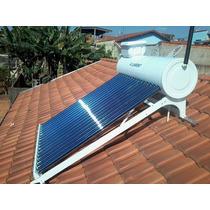 Aquecedor Solar Tubo A Vácuo 244lts Até 6 Banhos