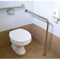 Barra De Apoio 80x90cm Banheiro Idoso Deficiente Cadeirante