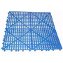 Piso Tapete Antiderrapante Banheiro Piscina 50x50cm Azul