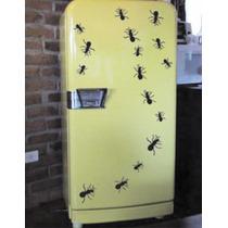 Adesivos Decorativos De Parede Geladeira Formigas