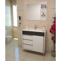 Gabinete / Armário Banheiro Fit Perfect 80