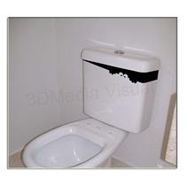 Adesivo Decorativo Para Caixa Do Vaso Sanitário Frete Grati