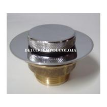 Valvula De Fundo Metal Cr De 1 1/2 P/banheiras/spas/furôs