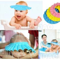 Chapéu Protetor Para Lavar Cabeça De Bebês E Crianças!