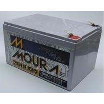 Bateria Moura Vrla - 12v 12ah P/ Nobreak, Alarme E Outros