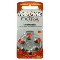 Pilha Auditiva Extra Rayovac 13 C/ 6 Unid.