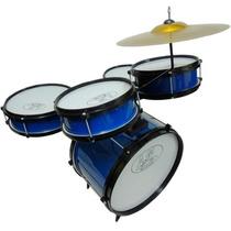 Bateria Infantil Rock Baby Am 2 Tons Azul Loja Bolero Music