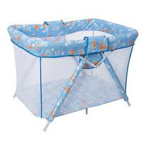 Cercado Dobrável Para Bebês - Bianca 6630- C18. Azul