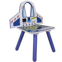 Cadeira Buzz Em Formato De Foquete Toy Story Em Mdf