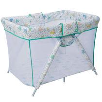 Cercado Dobrável Para Bebês - Bianca 6630-c07 - Verde
