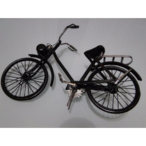 Bicicleta Miniatura Francesa / Artesanal- 29x18 Cm