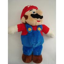 4615 Mario Bross, Boneco Original Em Pelucia, Importado, Gra