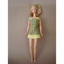 2710 Boneca Barbie Fada Da Matel, De 1966. Sem As Asas, Com