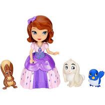 Boneca Princesa Sofia E Animais - Disney Mattel