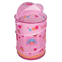 Porta Objetos Brinquedos Lalaloopsy Cesto Infantil Braskit