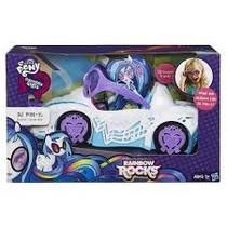 Kit My Little Pony Equestria Girls Dj Pon-3 + Carro Rainbow