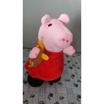 Boneca Peppa Pig E George Pig Canta E Dança Veja Video