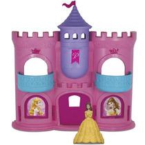 Castelo Sonhos Princesas Bela Disney Brinquedo Menina Elka