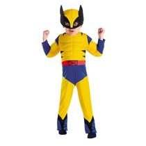 Fantasia, Wolverine, Infantil, Músculos, Máscara, Marvel