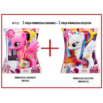 Kit C/2 My Little Pony (cadence+celestia) Originais