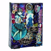 Boneca Monster High 13 Wishes Frankie Stein