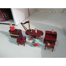 Móveis De Madeira Casa De Bonecas