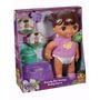 Boneca Fisher Price Dora Aventureira - Banheiro Da Dora