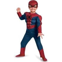 Fantasia, Homem-aranha 2 Músculos Máscara 3/4 Anos