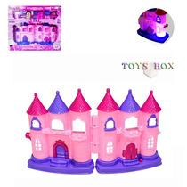Castelo Da Princesa Abbie Brinquedo C/ Efeitos De Luz E Som