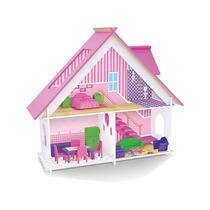 Brinquedo - Casinha De Bonecas Sweet C/acessórios Ref. 410