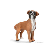 Boneco Alemao Schleich 16390 Cachorro Boxer Femea Cao Pet