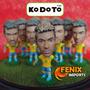 Mini Craque Neymar #10 Brasil Seleção 13/14 Novo Kodoto Ney