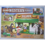 Brinquedo Saloon Velho Oeste Playset