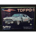 Ultraseven - Carro Tdf Po-1 - Kit Para Montar - Com Motor
