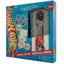 Kit Criativo Desenho Light Box Hotwheels Escolar Fretegrátis